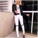 Calça Skinny Couro Ecológico - Ana Paula
