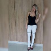 Calça Skinny Couro Ecológico - Rafaeli