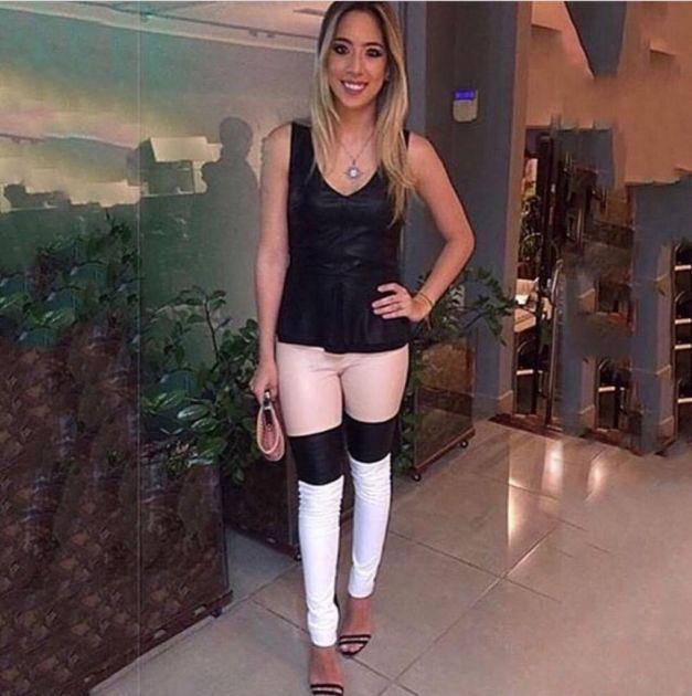 Calça Skinny Couro Ecológico - Talita