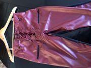 Calça Skinny Couro Ecológico - Tassia