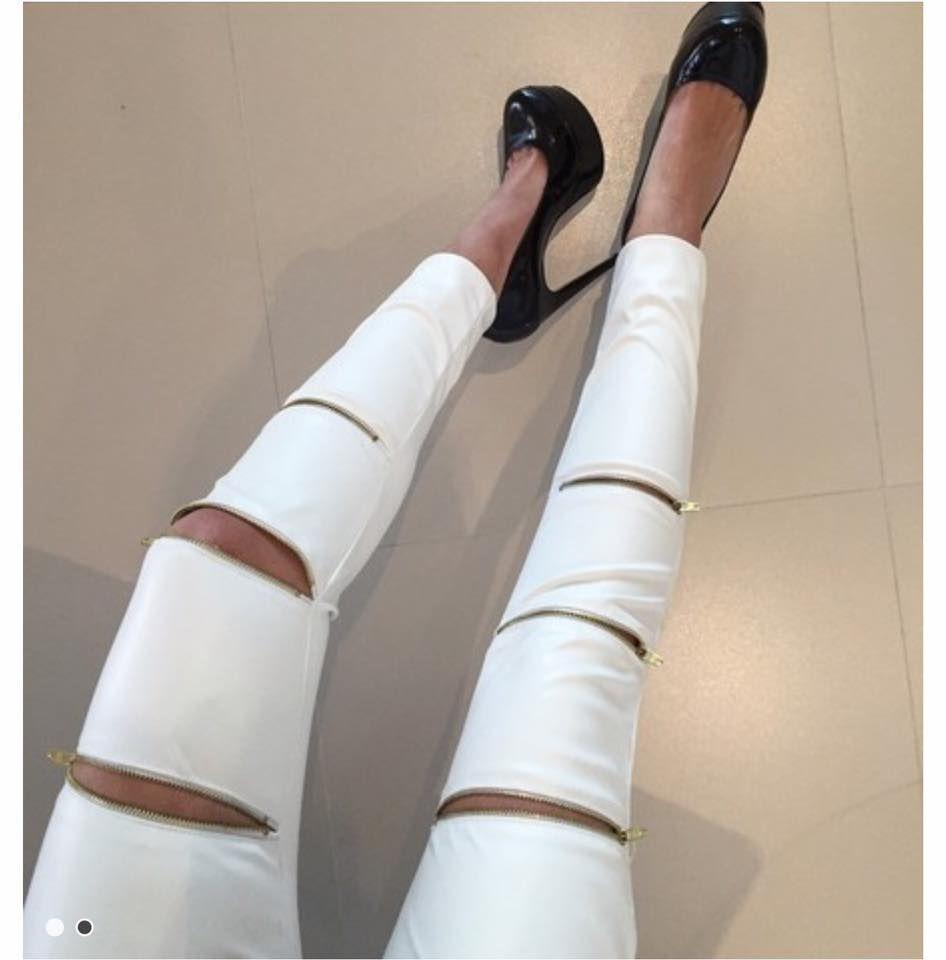 Calça Skinny Couro Ecológico - Isis